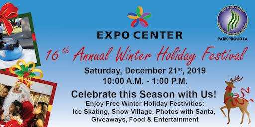 EXPO Center's 16th Annual Winter Holiday Festival