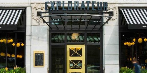 Glenfiddich Tasting at Explorateur with Tracie Franklin - Space is Limited!