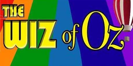 The Wiz of Oz tickets