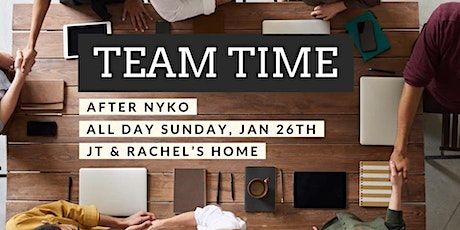 Post NYKO Team Time! tickets