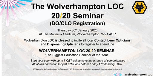 The Wolverhampton LOC 2020 Education Seminar - DO/CLO registration