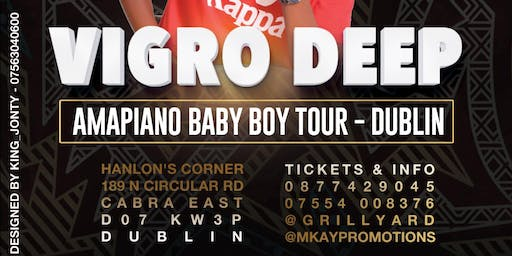 Vigro Deep Baby Boy Europe Tour