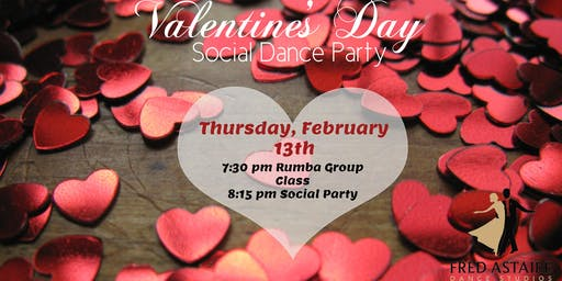 Valentine's Day Social Dance Party