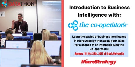 Intro to Business Intelligence in MicroStrategy with The Co-operators tickets