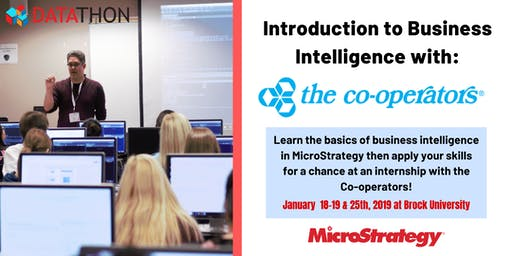 Intro to Business Intelligence in MicroStrategy with The Co-operators