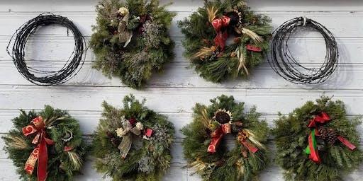 Lillie's Garden Christmas evergreen wreaths