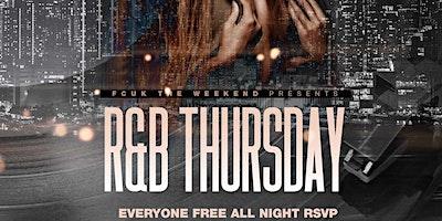R&B Afterwork Thursday / Happy Hour til 10pm (Free