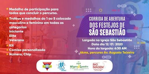 CORRIDA DE ABERTURA DO FESTEJO DE SÃO SEBASTIÃO