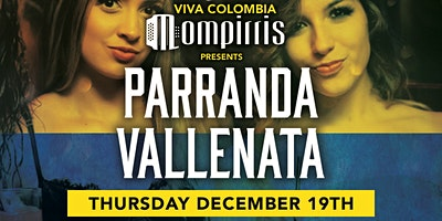 Parranda Vallenata Blue Martini Ft Lauderdale Thursday Dec 19th