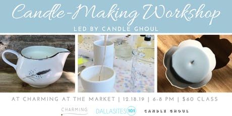 Candle Making Workshop tickets