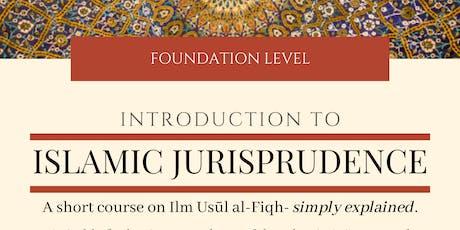 Introduction to Islamic Jurisprudence tickets