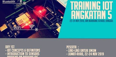 Training IoT Angkatan 5