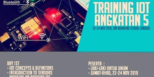 Training IoT Angkatan 5