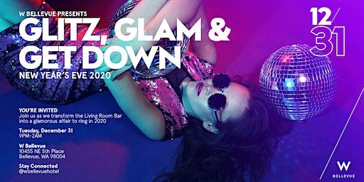 NYE at W Bellevue // GLITZ, GLAM &  GET DOWN