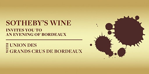 Sotheby's Wine x Union des Grands Crus de Bordeaux – 20 January 2020