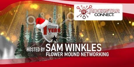 Free Flower Mound Rockstar Connect Networking Event (December, near Dallas) tickets