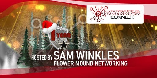 Free Flower Mound Rockstar Connect Networking Event (December, near Dallas)