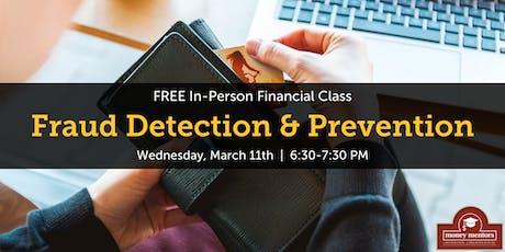 Fraud Detection & Prevention | Free Financial Class, Grande Prairie tickets