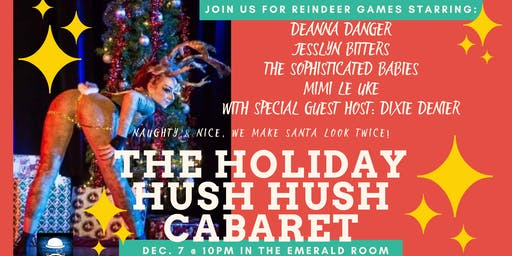 The Holiday Hush Hush Cabaret