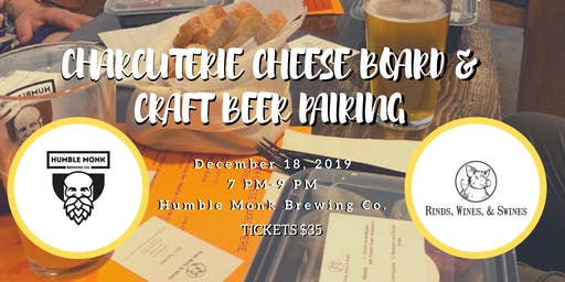 Charcuterie Cheese & Craft Beer Pairing