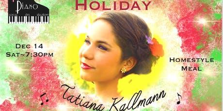#PopOpera Holidays with Tatiana Kallman tickets