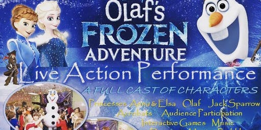 Copy of Olaf's Frozen Adventure / Live Action Performance (for 6-8 y.o.)