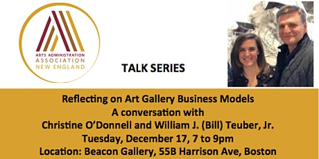 Talk Series: Reflecting on Art Gallery Business Models tickets