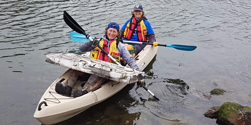 Bulimba Creek Paddle Against Plastic - supported by Port of Brisbane