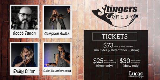 Stingers Comedy at Lucas'