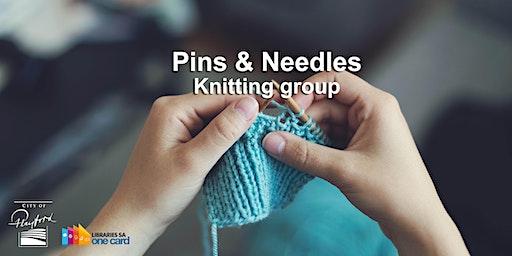 Pins & Needles: Knitting group