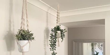 Beginners Macrame Plant Hanger Workshop tickets