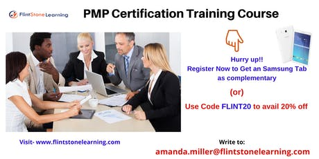 PMP Training workshop in Charlestown, NH tickets