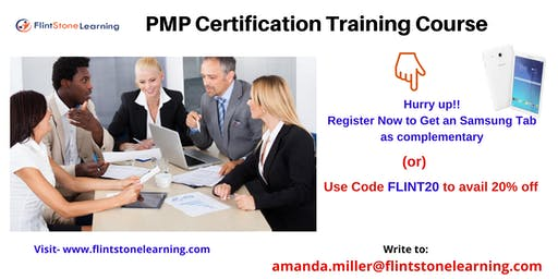 PMP Training workshop in Cherry Valley, CA