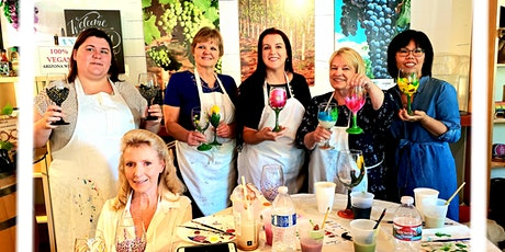 Merry Times Painting Glasses and Wine at LDV Wine Tasting Room tickets