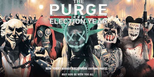 The Purge @ Stage 48 ! NYC's Biggest Halloween Costume Party