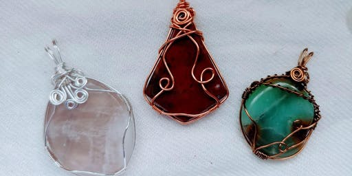 Crystal Wire Wrapping -  with Bailey Zubay