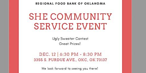 SHE State-Wide Community Service - OKC