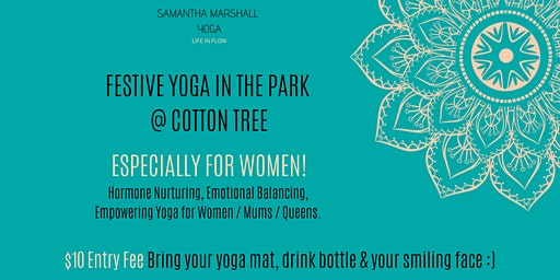 Woman-Focused Yoga in the Park