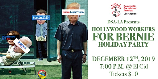 Hollywood Workers for Bernie Holiday Party