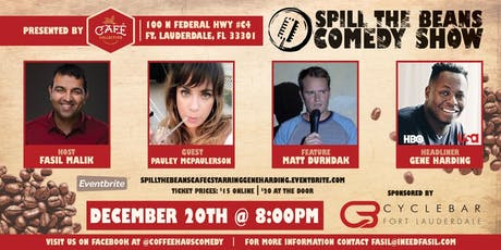 Spill The Beans Comedy Show Starring Gene Harding (HBO&USA) tickets