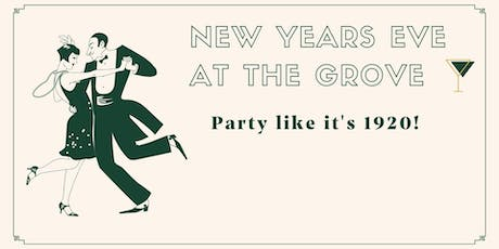 New Years Eve at The Grove, Hidden Valley tickets
