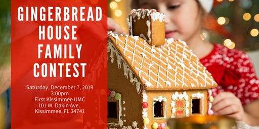 Gingerbread House Family Contest