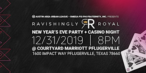 AAUL + Omega Psi Phi Fraternity, Inc Ravishingly Royal New Year's Eve Party