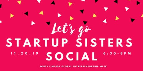 Startup Sisters Presents Boss Bingo ⚡Entrepreneurship Week Pop-Up Social tickets