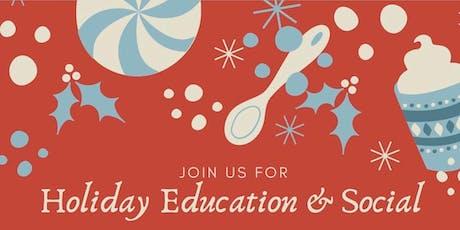 Realtor Holiday Education & Social tickets