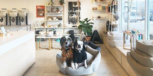 Dog Yoga Class with Lululemon Lab (Gastown)