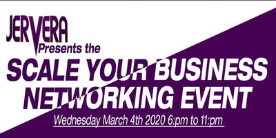 Scale your business networking event