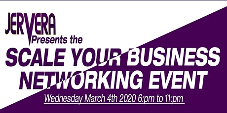 Scale your business networking event tickets