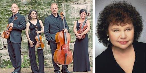 Arianna String Quartet & Michele Levin, Pianist