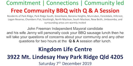 "FREE Community BBQ and ""Meat & Grill"" Q & A forum tickets"